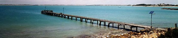 The town Jetty in Robe, South Australia.