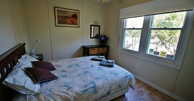 Bedrooms in the Tobruk Cottage